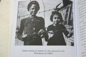 girls in Rivesaltes camp