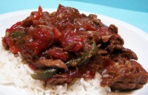 Crockpot Pepper Steak