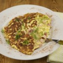 Emeril's Ham & Cheese Omelet