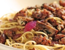 Angel Hair Pasta with Italian Sausage and Herbs