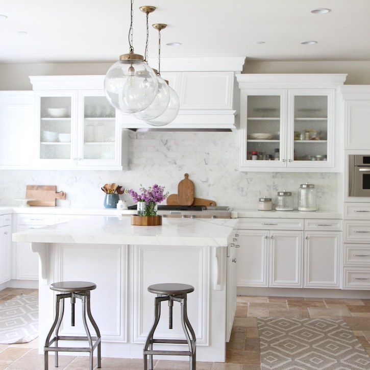 White Beach Kitchen Remodel Calmo Becki Owens