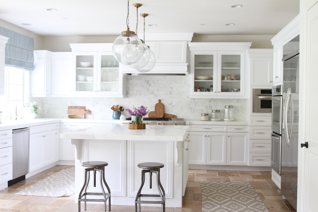White Beach Kitchen Remodel Calmo Becki Owens ...