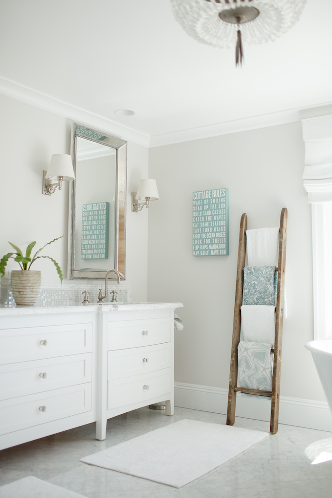 Becki Owens San Clemente Beach House Bathroom