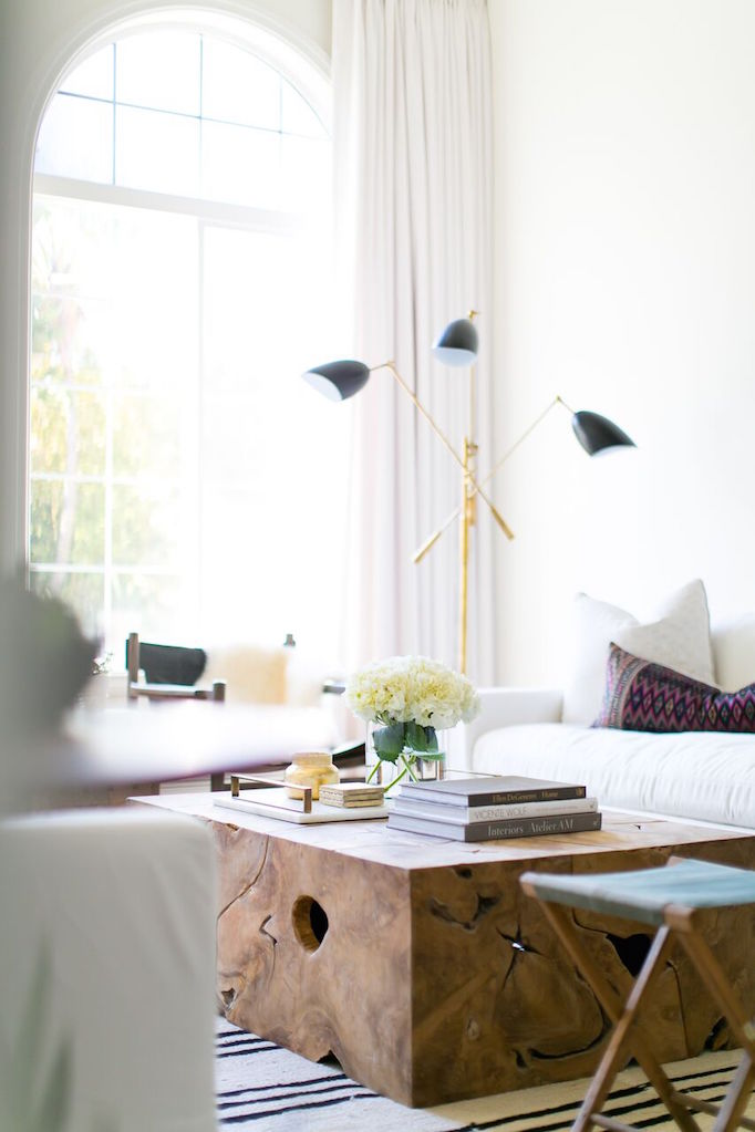 7 Ways to Style a Coffee Table