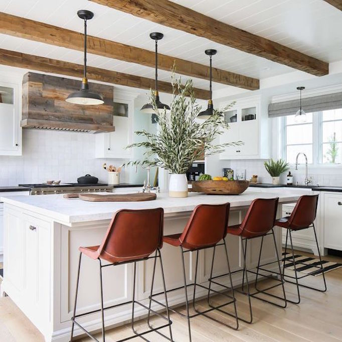 The Images Collection Of Modern Farmhouse Tour Interior: 7 Elements Of The Modern FarmhouseBECKI OWENS