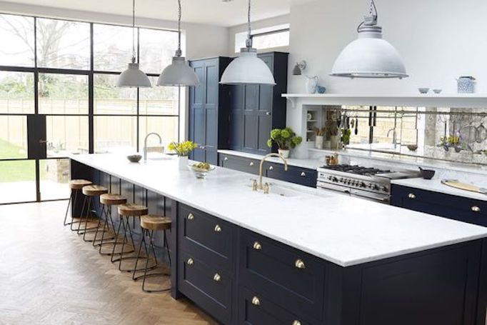 amusing black farmhouse kitchen | Colors of the Modern Farmhouse + Paint GuideBECKI OWENS