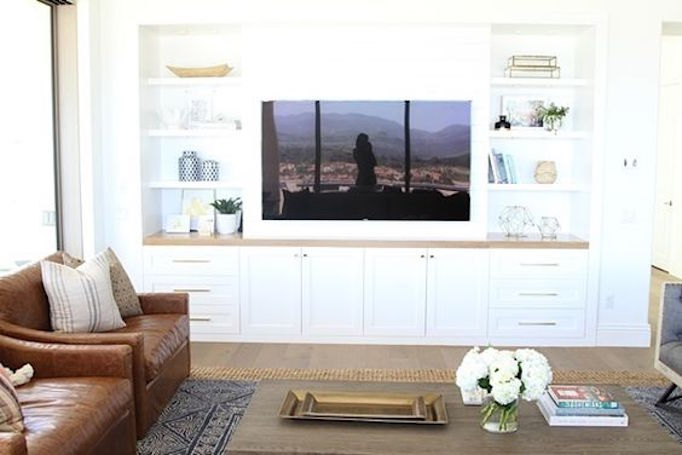 10 Ideas For Media Wall Built Ins