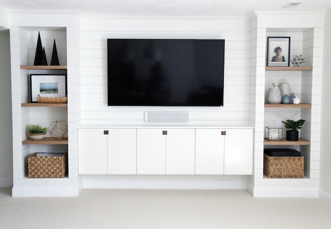 10 Ideas For Media Wall Built Insbecki Owens