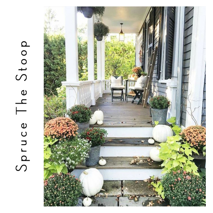 spruce the stoop for fall