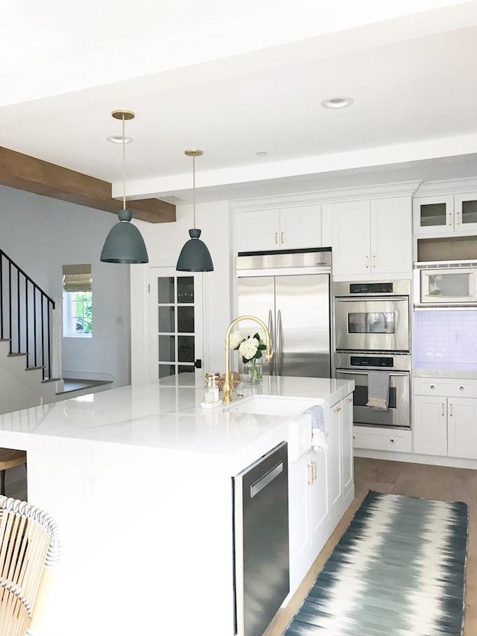 New White Wood Kitchen Styled W Nordstrom Becki Owens
