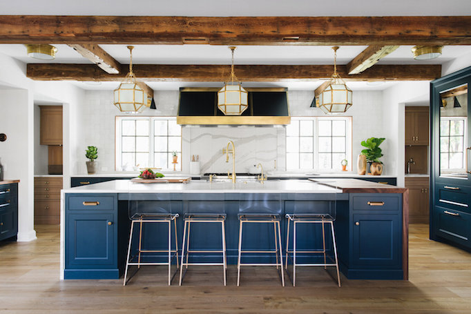 Becki Owens & Kitchen Design Inspiration: 3 Blue BeautiesBECKI OWENS