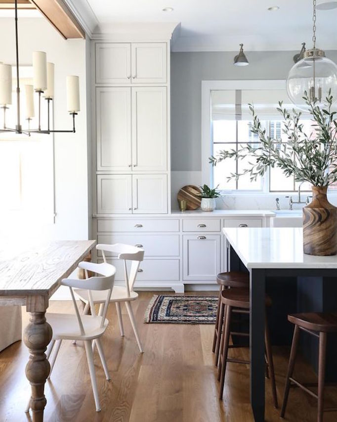 Go With Black For A Classic Tuxedo Kitchen, A Fun Pop Of Color, Or Use  Natural Wood For A Beautiful Warm Organic Look.