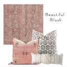 4 Pretty Pillow and Rug Combos