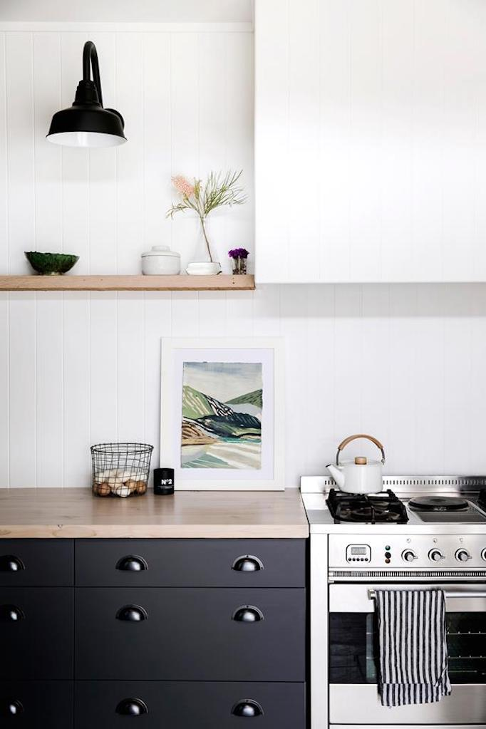Natalie Walton Via Homes To Love. The Minimalist Range Hood ...