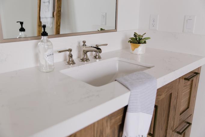 Mixing Metals With Brizo In The Bathrooms Of Villa