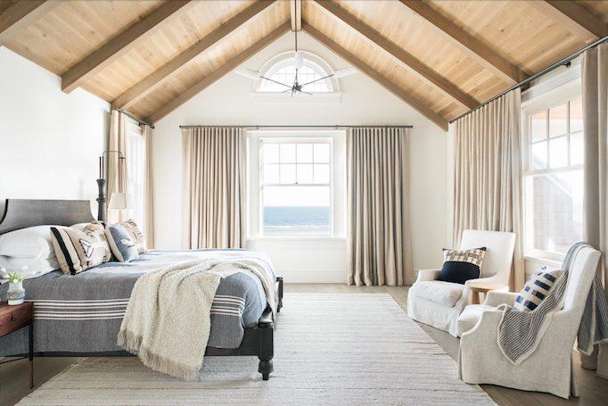 Dormitorio en casa de playa