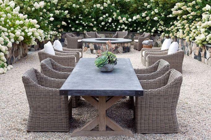 Outdoor dining furniture trendsbecki owens