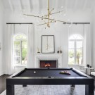 Before and After: Leah Remini's Pool Room