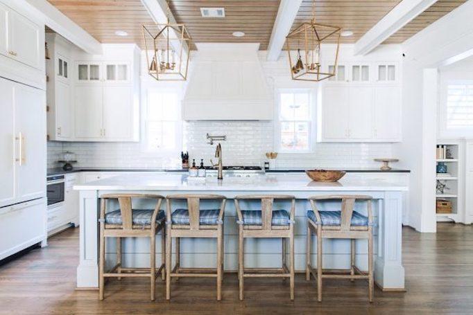 Gorgeous Kitchen Renovation In Potomac Maryland: Dream Kitchen: White + Wood In HoustonBECKI OWENS