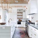 Dream Kitchen: White + Wood in Houston