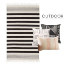 5 New Pillow and Rug Combinations