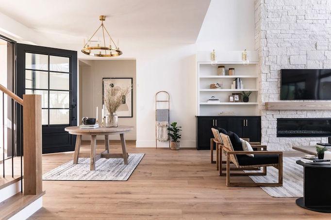 Family Ties Custom Build With Monarch Floors Becki Owens