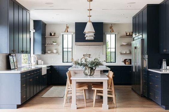 BECKI OWENS Dark Kitchen Inspiration