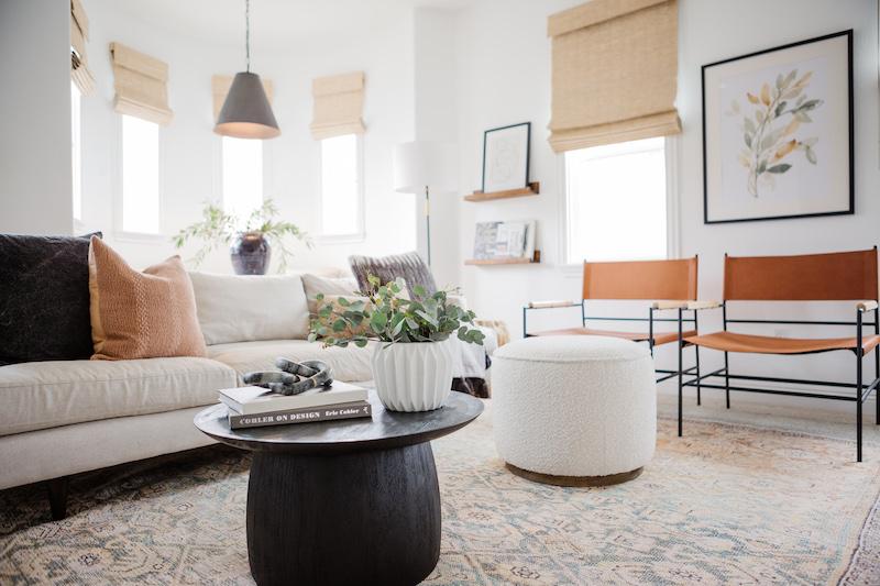 Becki Owens Fall Living Space