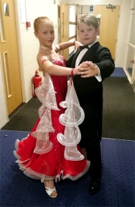 George and Lacey - Ballroom Dancers