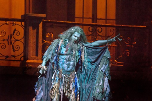 John Relyea (Vodník) © Ken Howard/Metropolitan Opera