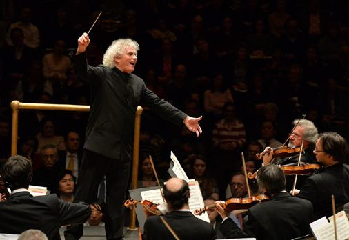 Sir Simon Rattle and the Berliner Philharmoniker © Mark Allan | Barbican