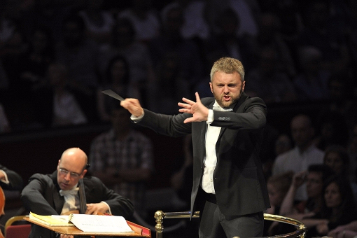 Kirill Karabits conducts the Bournemouth Symphony Orchestra © BBC | Chris Christodoulou