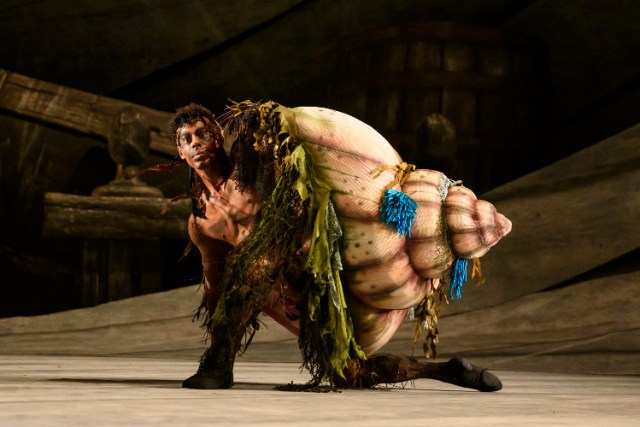 Tyrone Singleton (Caliban) in The Tempest © Bill Cooper