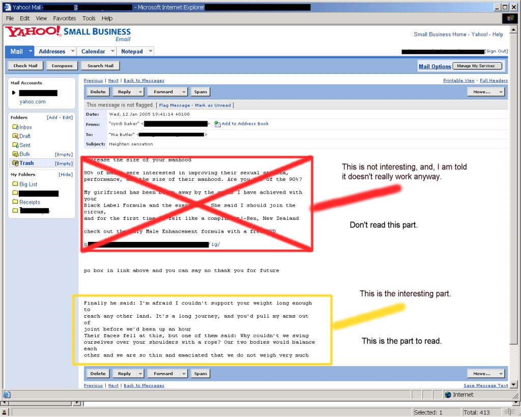 Where I find hidden spam fiction.  Click to open in a new window.
