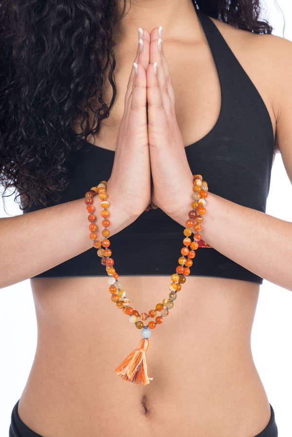 Beckons yoga clothing carnelian malas