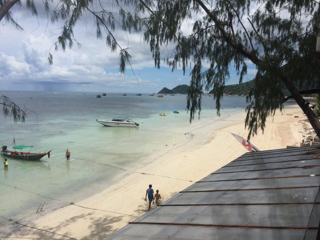 A beautiful beach in Koh Tao, Thailand
