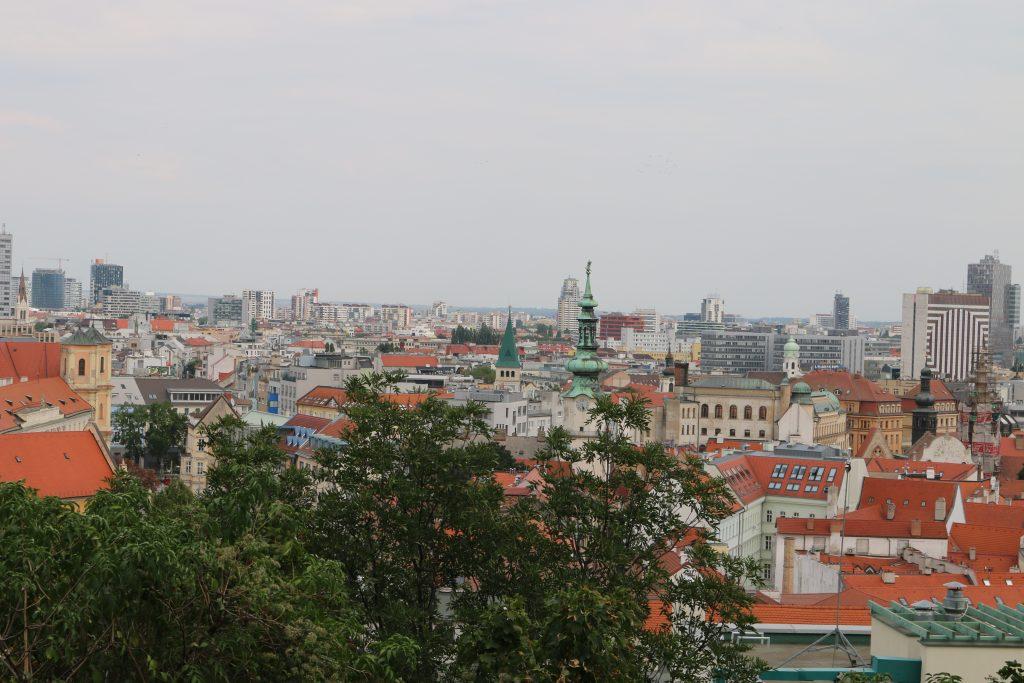 Views of Bratislava from Bratislava Castle