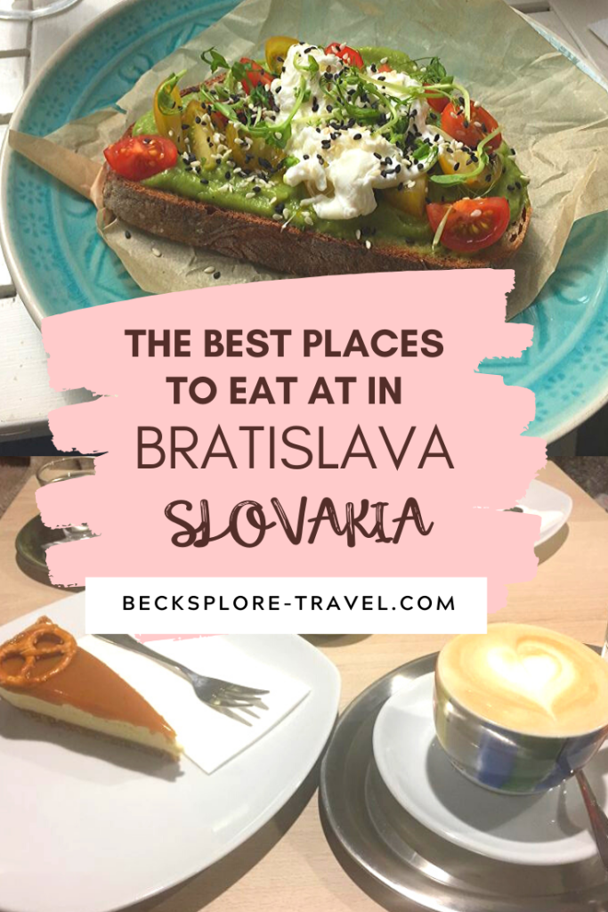 Best Places to eat at in Bratislava, Slovakia