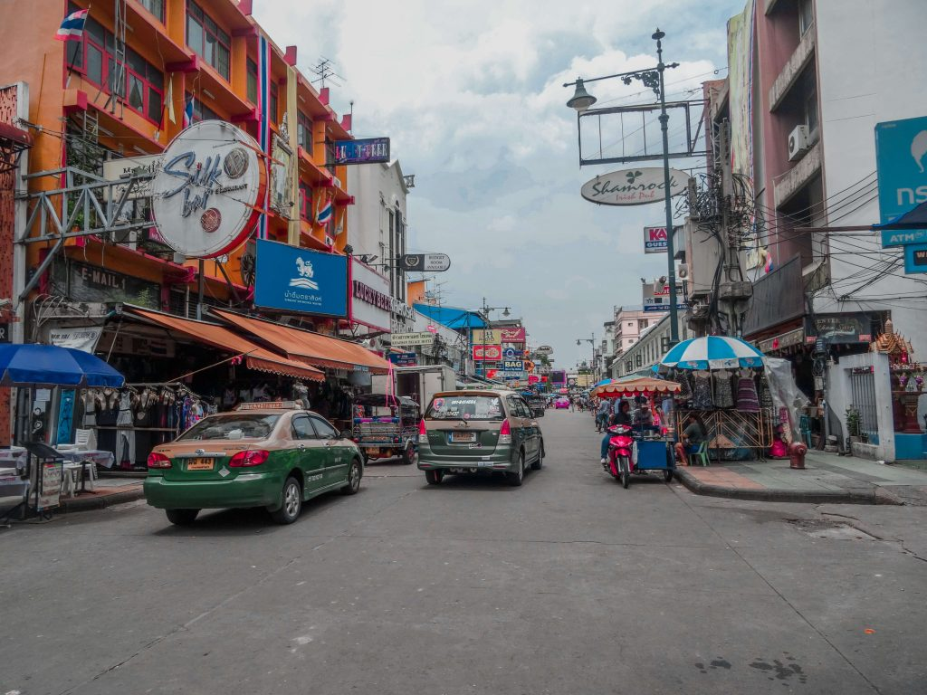 A visit to Khao San Road should be included in a three week Thailand itinerary
