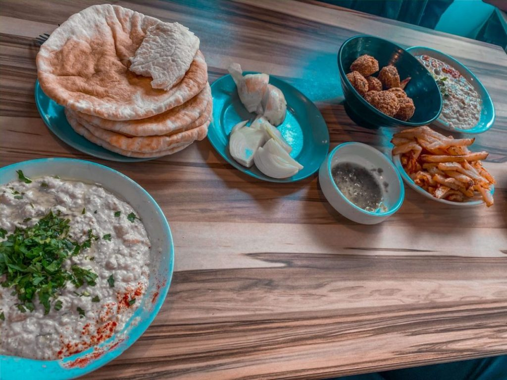 Abu Hassan restaurant should ne included in a perfect day in Tel Aviv