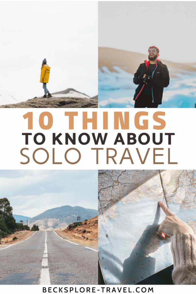 10 Things to know about solo travel #travelblog #solotravel