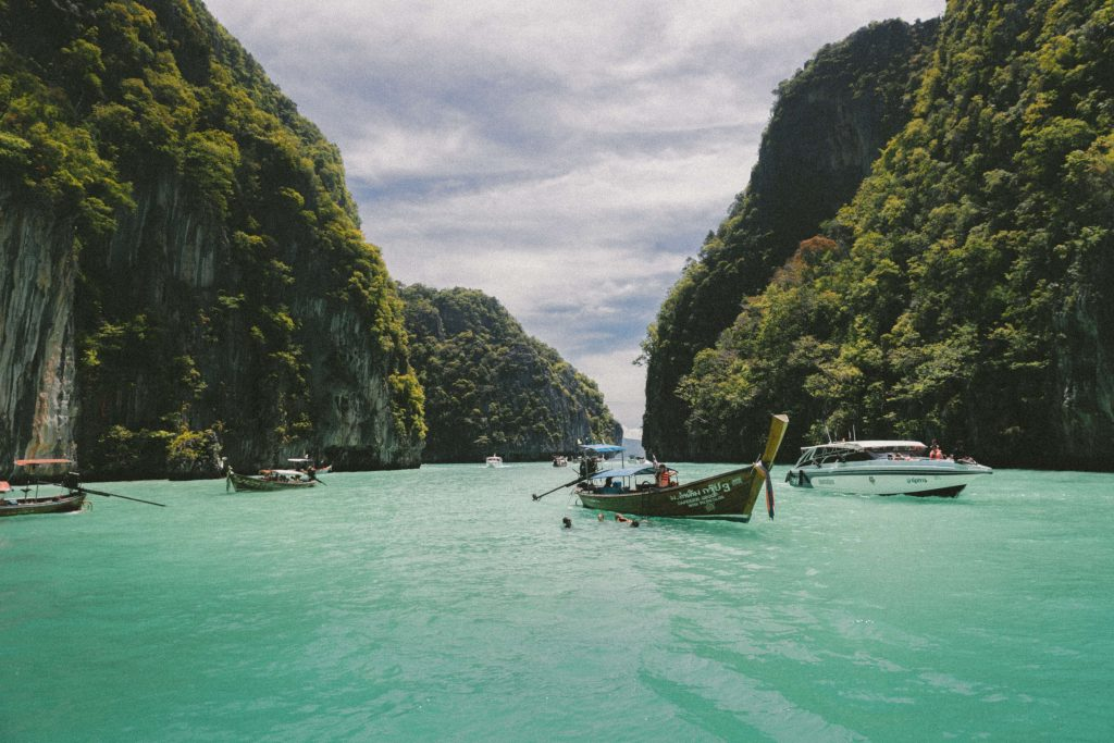 The beautiful Thai islands