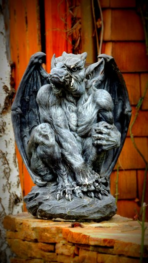 Gargoyle Keeping Watch at Mythic Place