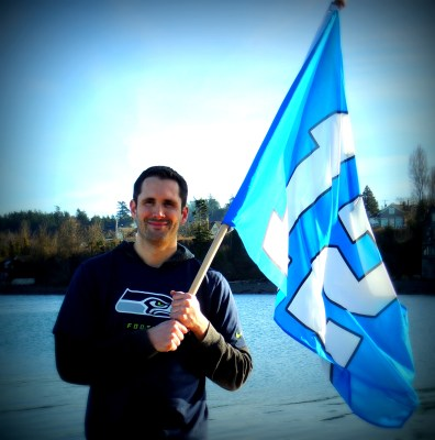 This guy was selling the flags and he gave me one for photographing him!
