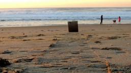 The lone log round....