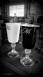 For the Groom and Bride to toast with....