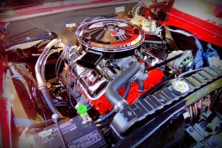 This isn't the engine from the Mach but it IS what's under the hood that makes a muscle car!