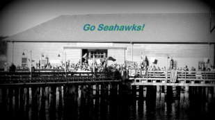 Seahawks Rally At The Wharf: Top 20% award for the day of 2/3/16...