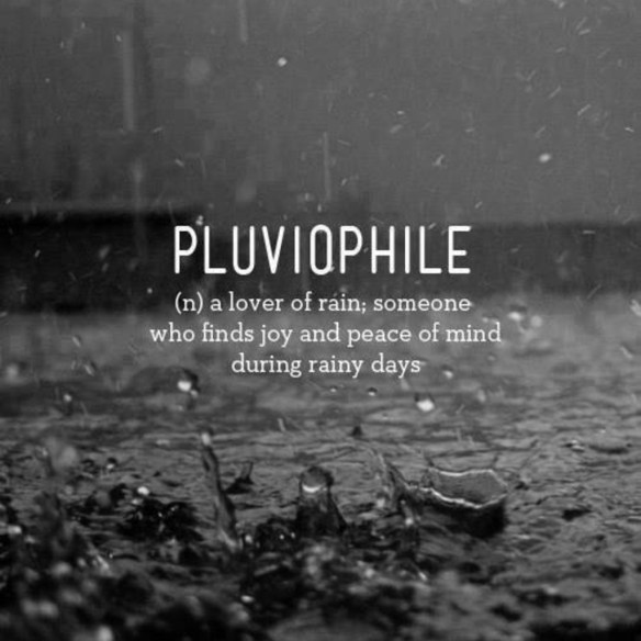 Pluviophile - Lover of Rain Wallpaper by TelephoneWallpaper.com