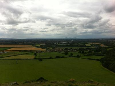 On top of Haughmond Hill